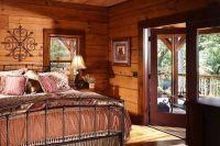 интерьер спальни в деревянном доме 5