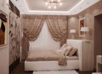 Интерьер спальни в хрущевке1
