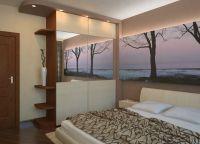 Интерьер спальни в хрущевке2