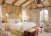 Интерьер спальни в стиле прованс9