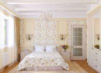 Интерьер спальни в стиле прованс1