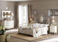 Интерьер спальни в стиле прованс4