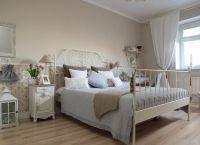 Интерьер спальни в стиле прованс6