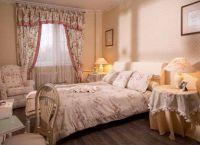 Интерьер спальни в стиле прованс7