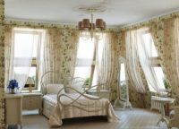 Интерьер спальни в стиле прованс8