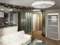 Интерьер в однокомнатной квартире 8