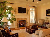 Интерьер зала в частном доме3