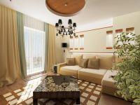 Интерьер зала в частном доме7