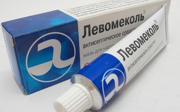 Эффективная антисептическая мазь