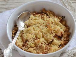 Яблочный крамбл – рецепт