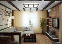 Японский стиль в интерьере квартиры2