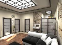 Японский стиль в интерьере квартиры5