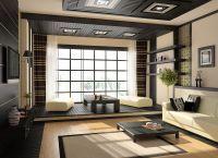 Японский стиль в интерьере квартиры6