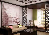 Японский стиль в интерьере квартиры7