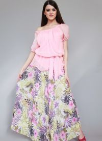 Юбки с цветочным принтом 2013 2