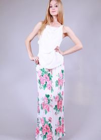 Юбки с цветочным принтом 2013 3