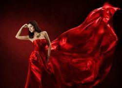 К чему снится красное платье?
