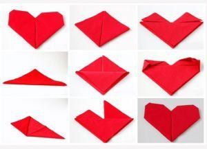 Как красиво сложить бумажные салфетки 3