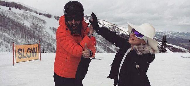 Как Lady Gaga проводит отпуск в горах