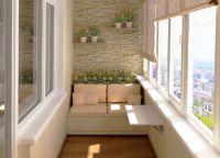 Как обустроить балкон2