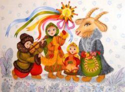 Как праздновали Рождество на Руси1
