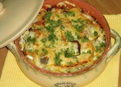 Пикша с картошкой в духовке
