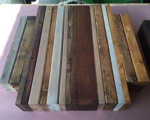 Как сделать стол из дерева своими руками9