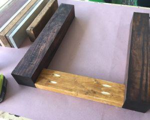 Как сделать стол из дерева своими руками10