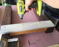 Как сделать стол из дерева своими руками11