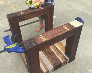 Как сделать стол из дерева своими руками14