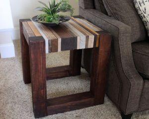Как сделать стол из дерева своими руками17