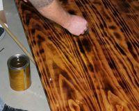 Как сделать стол из дерева своими руками 29