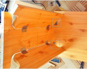 Как сделать стол из дерева своими руками5