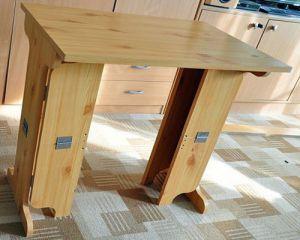 Как сделать стол из дерева своими руками7
