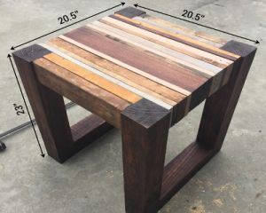 Как сделать стол из дерева своими руками8