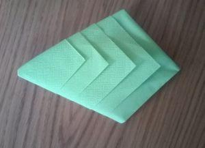 Как сложить бумажные салфетки для сервировки стола 14