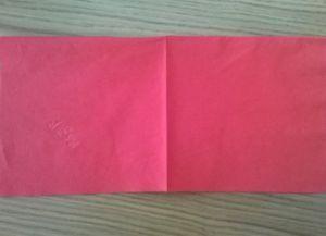 Как сложить бумажные салфетки для сервировки стола 1