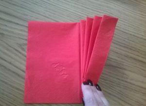Как сложить бумажные салфетки для сервировки стола 2