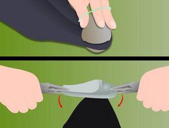 Как снять магнит с одежды5