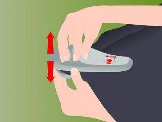 Как снять магнит с одежды6