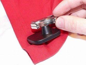 Как снять магнит с одежды8