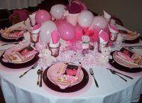 Как украсить детский стол на день рождения 4