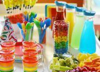 Как украсить детский стол на день рождения 7