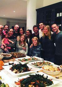 Gwyneth Paltrow cu familia