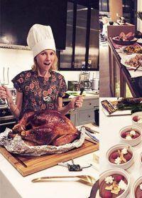 Naomi Watts gătită personal cină