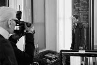 Robert i sam fotografirao Karl Lagerfeld