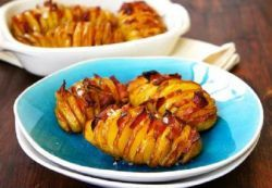 Картофель с беконом в фольге