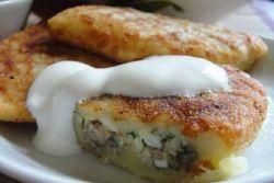 Картофельные зразы с рыбным фаршем