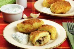 картофельные зразы с грибами рецепт