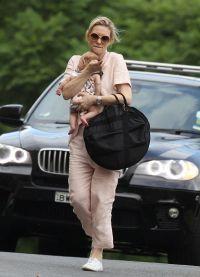 Кейт Бланшетт с приемной дочерью Эдит